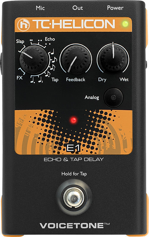 View larger image of TC Helicon VoiceTone E1 Pedal