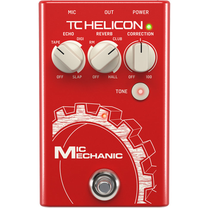 View larger image of TC Helicon VoiceTone Mic Mechanic 2 Pedal