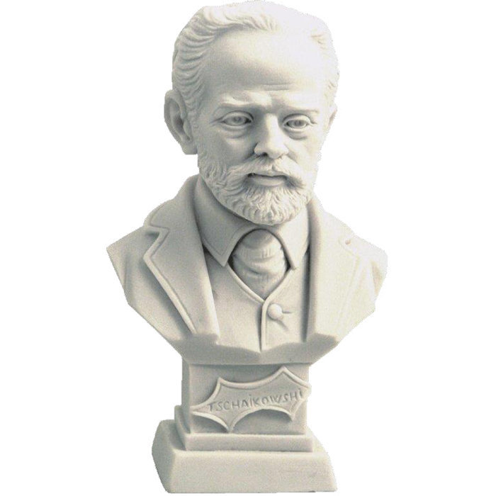 View larger image of Tchaikovsky Bust - Small, 4-1/2