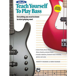 Teach Yourself to Play Bass - Book Only