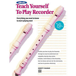 Teach Yourself to Play Recorder  (Book & CD)