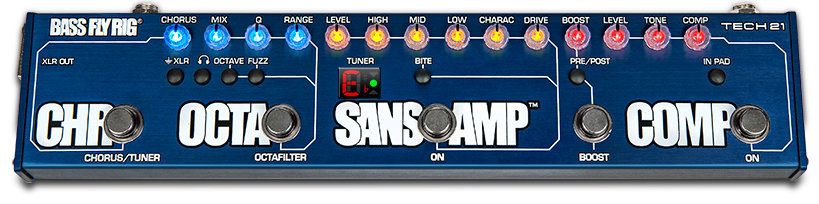 View larger image of Tech 21 SansAmp Bass Fly Rig Pedal