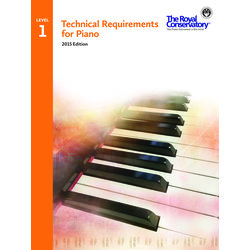 Technical Requirements for Piano 2015 Edition - Level 1