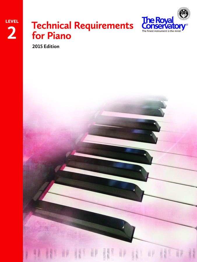 View larger image of Technical Requirements for Piano 2015 Edition - Level 2