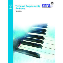 Technical Requirements for Piano 2015 Edition - Level 4