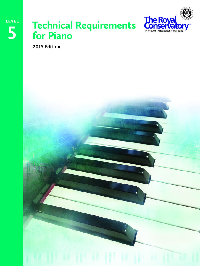 View larger image of Technical Requirements for Piano 2015 Edition - Level 5