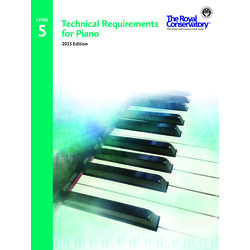 Technical Requirements for Piano 2015 Edition - Level 5