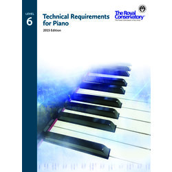 Technical Requirements for Piano 2015 Edition - Level 6