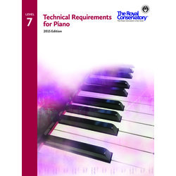 Technical Requirements for Piano 2015 Edition - Level 7