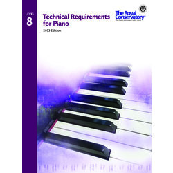 Technical Requirements for Piano 2015 Edition - Level 8