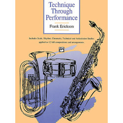 Technique Through Performance - Tenor Saxophone