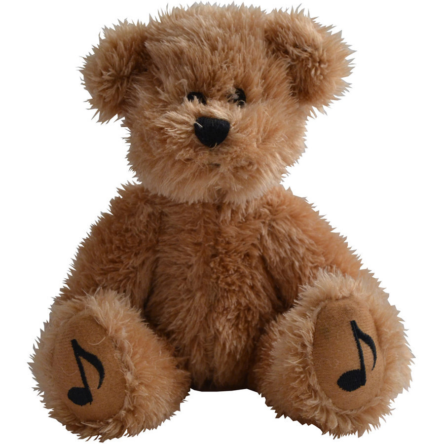 View larger image of Teddy Bear with Music Notes on Feet