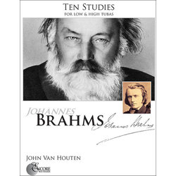 Ten Studies by Johannes Brahms - Low and High Tuba
