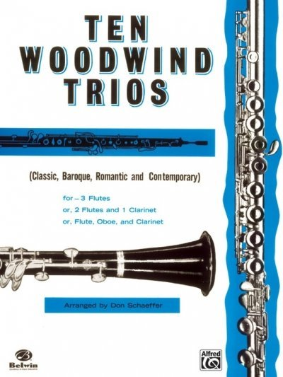 View larger image of Ten Woodwind Trios