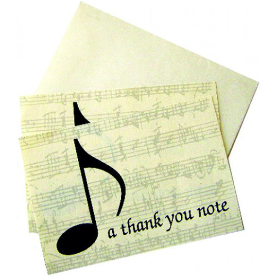 View larger image of Thank You Note Cards - 10 Box