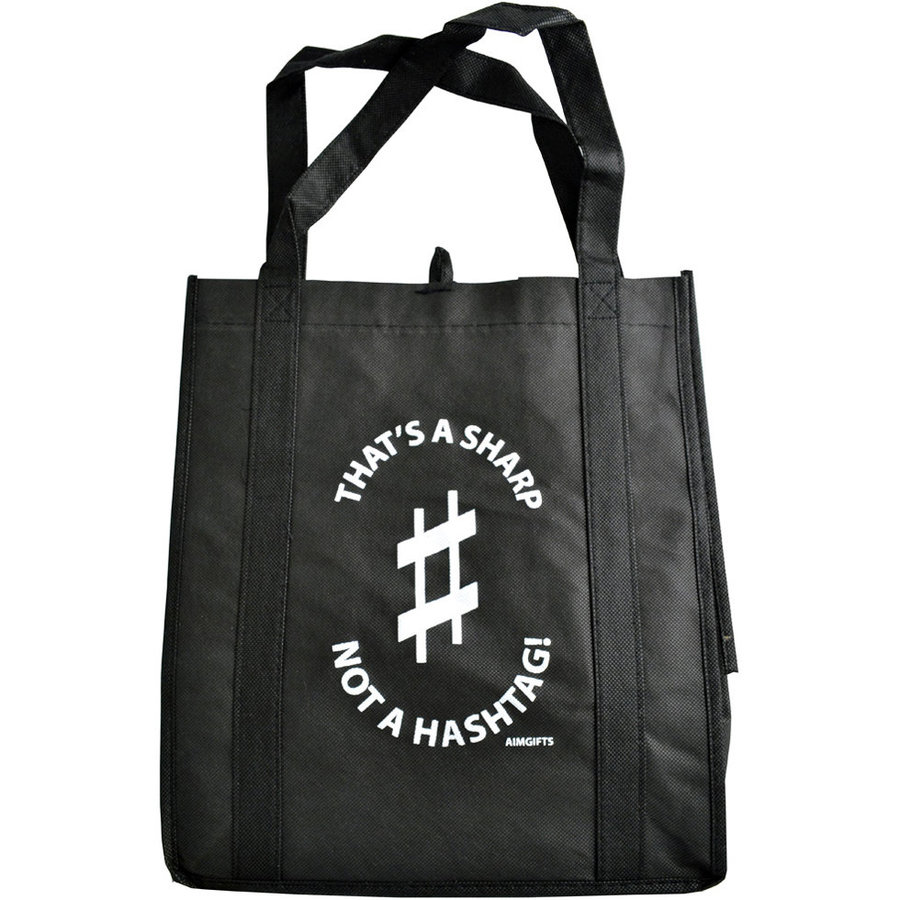 View larger image of That's A Sharp Not A Hashtag Tote Bag