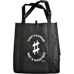 That's A Sharp Not A Hashtag Tote Bag