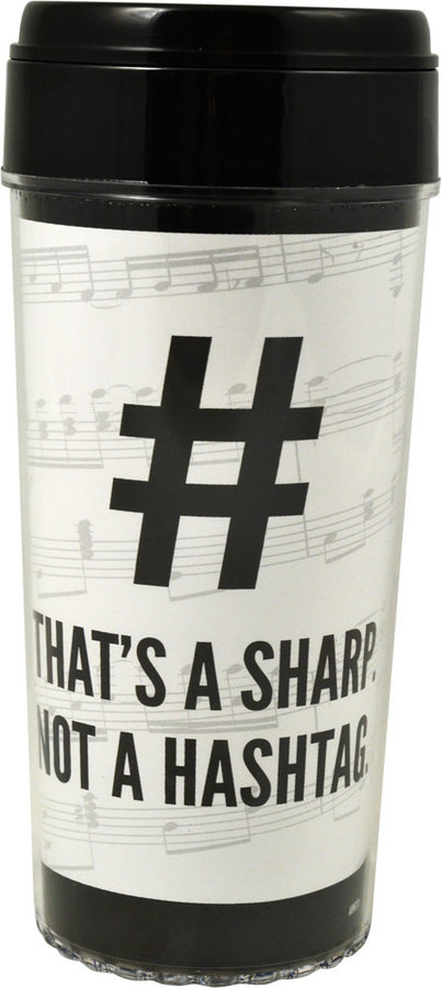 View larger image of That's a Sharp Not a Hashtag Travel Tumbler