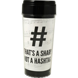 That's a Sharp Not a Hashtag Travel Tumbler