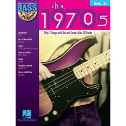 The 1970s - Bass Play-Along Volume 31 w/CD