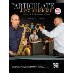 The Articulate Jazz Musician - Drums w/CD