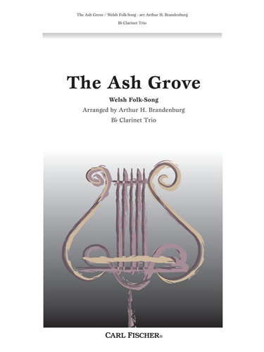 View larger image of The Ash Grove - (Welsh Folk Song) - Clarinet Trio