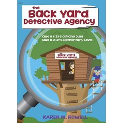 The Back Yard Detective Agency - Piano Duet (1P4H)