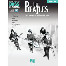 The Beatles - Bass Play Along Volume 13 w/Online Audio