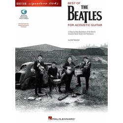 The Beatles - Best Of For Acoustic Guitar w/Online Audio