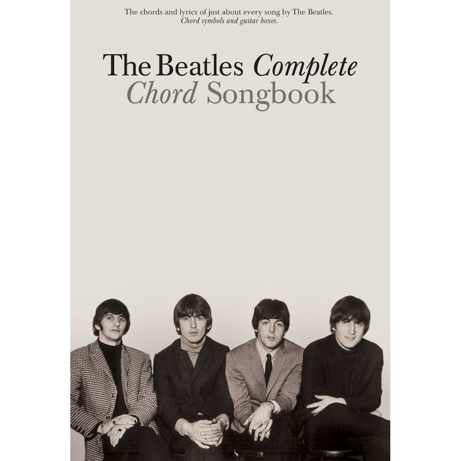 View larger image of The Beatles Complete Chord Songbook