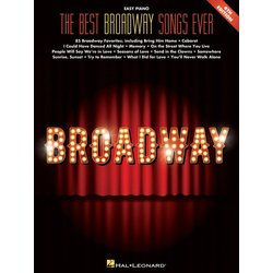 The Best Broadway Songs Ever (4th Edition) - Easy Piano