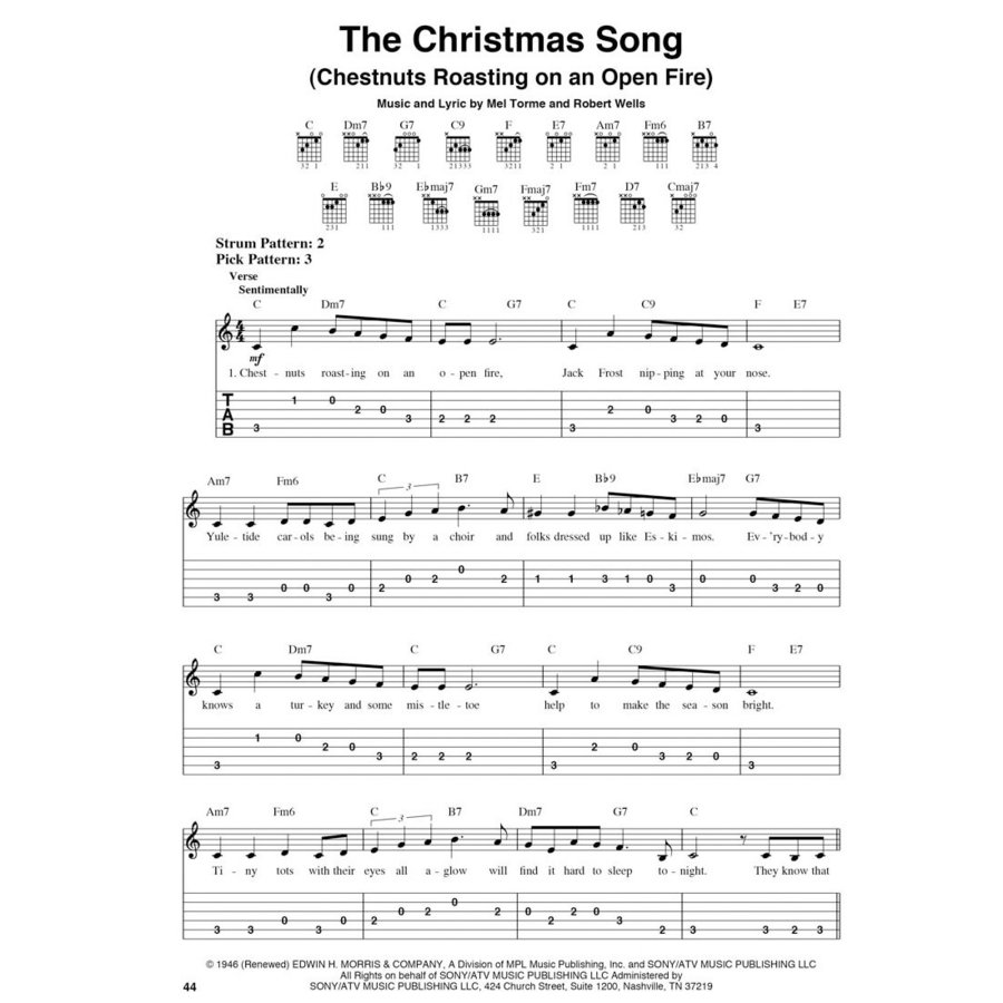 View larger image of The Best Christmas Guitar Fake Book Ever - 3rd Edition