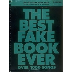 The Best Fake Book Ever - 2nd Edition - B Flat Edition