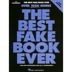 The Best Fake Book Ever - 2nd Edition  - E Flat Instruments
