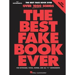 The Best Fake Book Ever - 4th Edition - C Edition