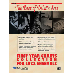 The Best of Belwin Jazz First Year Charts Collection - Bass