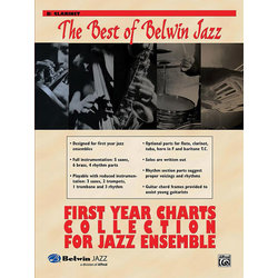 The Best of Belwin Jazz First Year Charts Collection - Clarinet