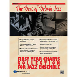 The Best of Belwin Jazz First Year Charts Collection - Guitar