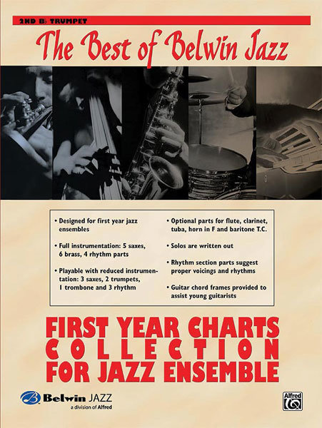 View larger image of The Best of Belwin Jazz First Year Charts Collection - Trumpet 2