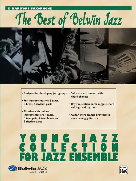 View larger image of The Best of Belwin Jazz Young Jazz Collection - Bari Sax