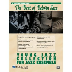 The Best of Belwin Jazz Young Jazz Collection - Bari Sax
