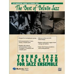 The Best of Belwin Jazz Young Jazz Collection - Baritone TC 1