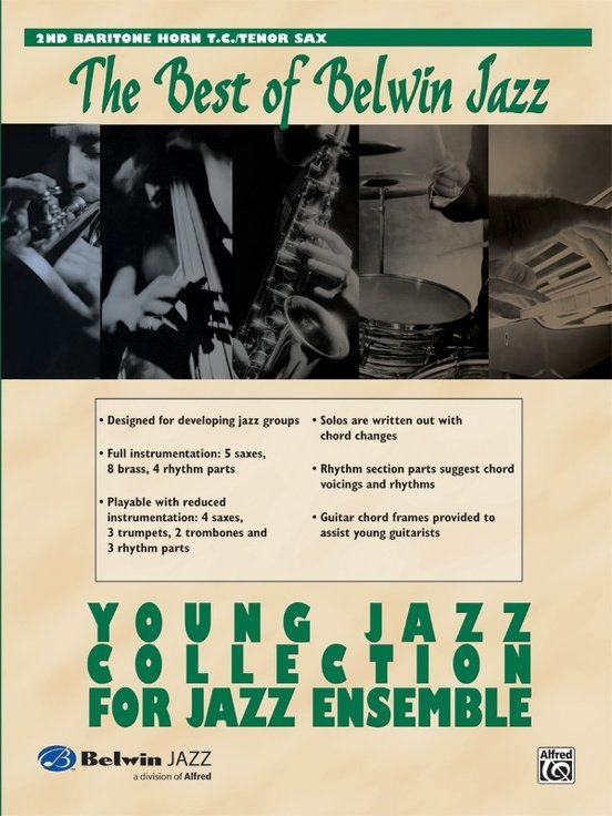View larger image of The Best of Belwin Jazz Young Jazz Collection - Baritone TC 2