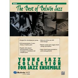 The Best of Belwin Jazz Young Jazz Collection - Bass