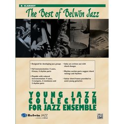 The Best of Belwin Jazz Young Jazz Collection - Clarinet