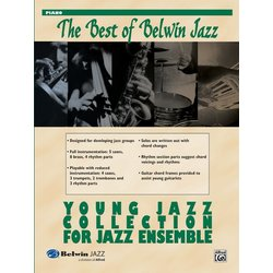 The Best of Belwin Jazz Young Jazz Collection - Piano