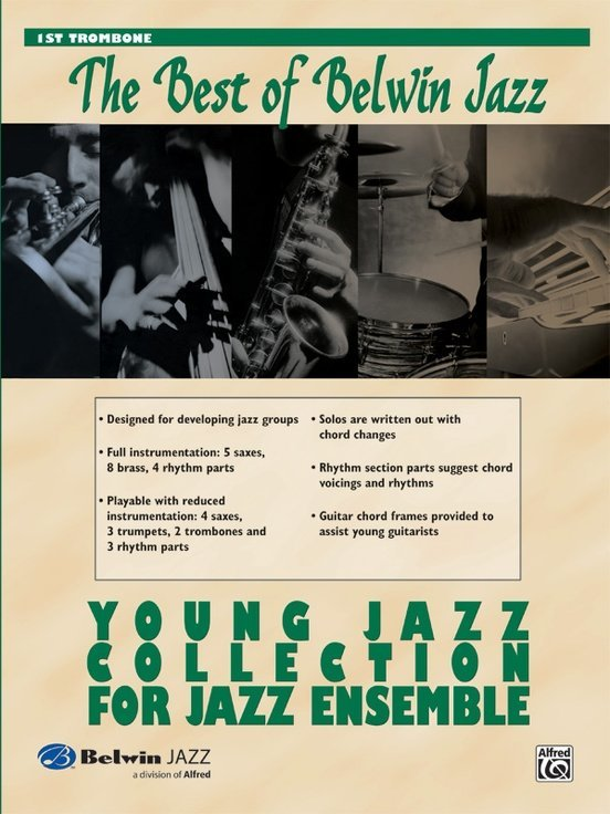 View larger image of The Best of Belwin Jazz Young Jazz Collection - Trombone 1
