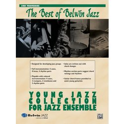 The Best of Belwin Jazz Young Jazz Collection - Trombone 3