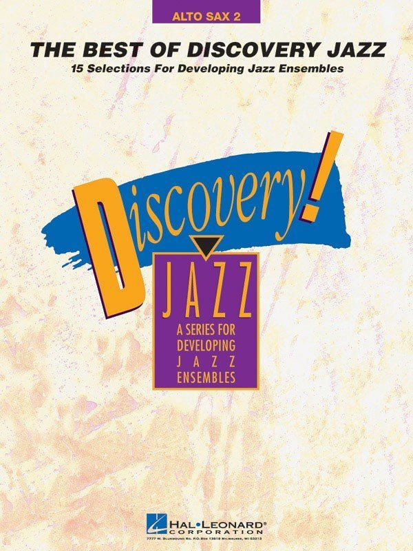 View larger image of The Best of Discovery Jazz - Alto Sax 2