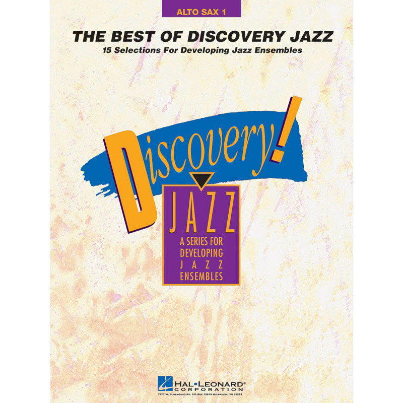 View larger image of The Best of Discovery Jazz - Alto Saxophone